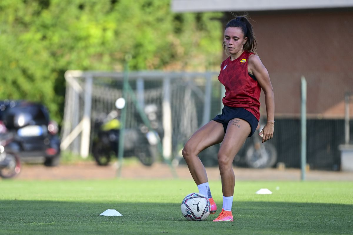 AS Roma Women Training Session