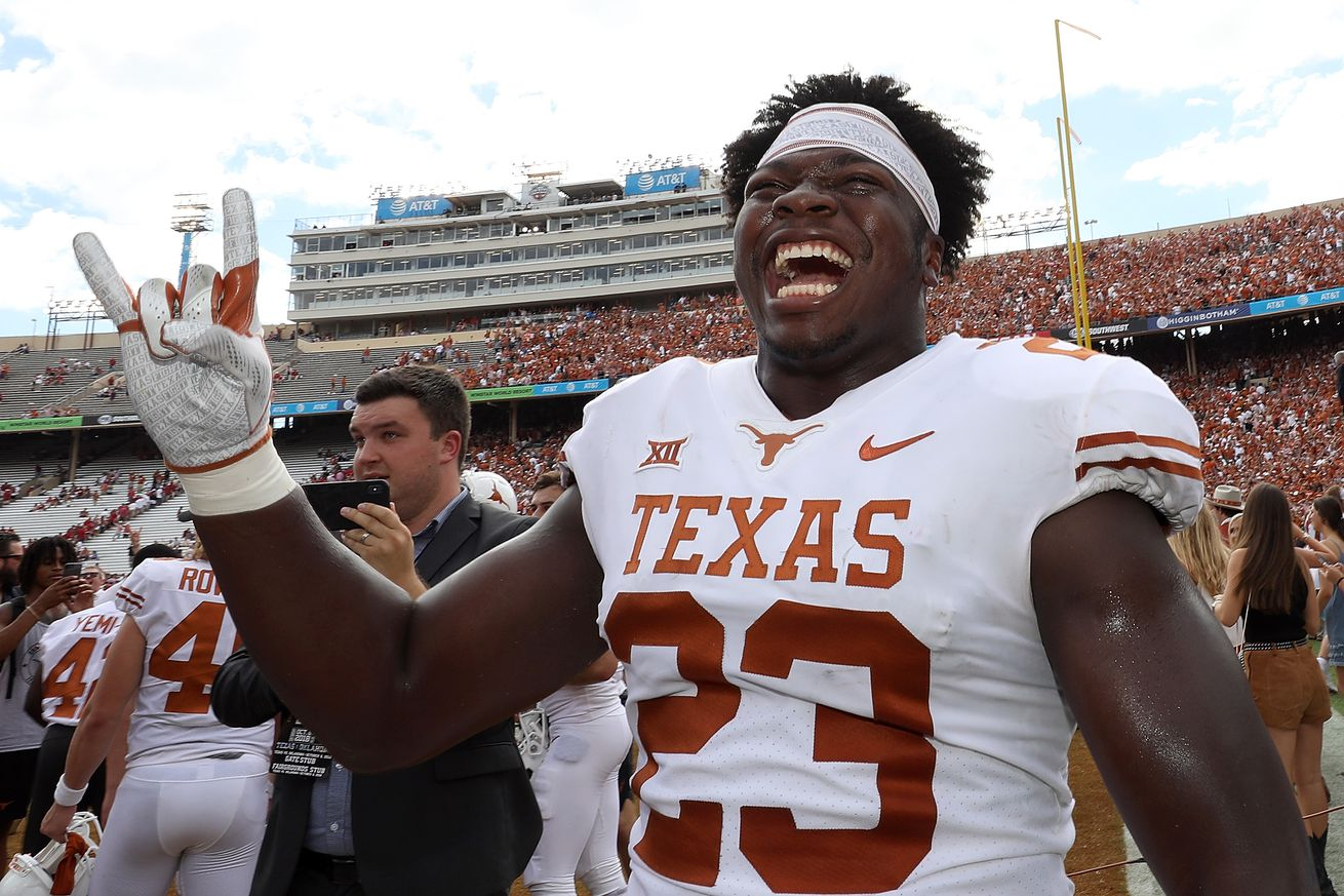 The Longhorns have a high ceiling as they rebuild the linebacker room