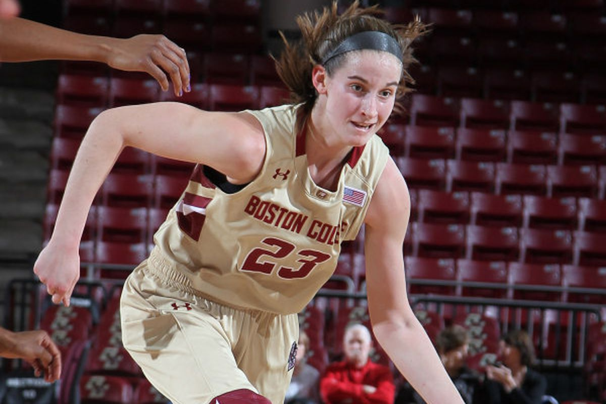Hughes recorded her third double-double of the season with 22 points and 10 rebounds.