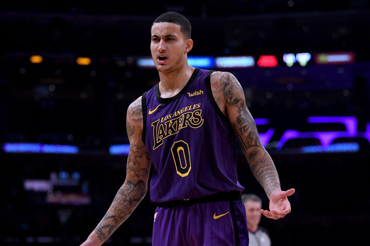 108e3718fde Kyle Kuzma says the Lakers aren t  panicking  just because LeBron James is  injured