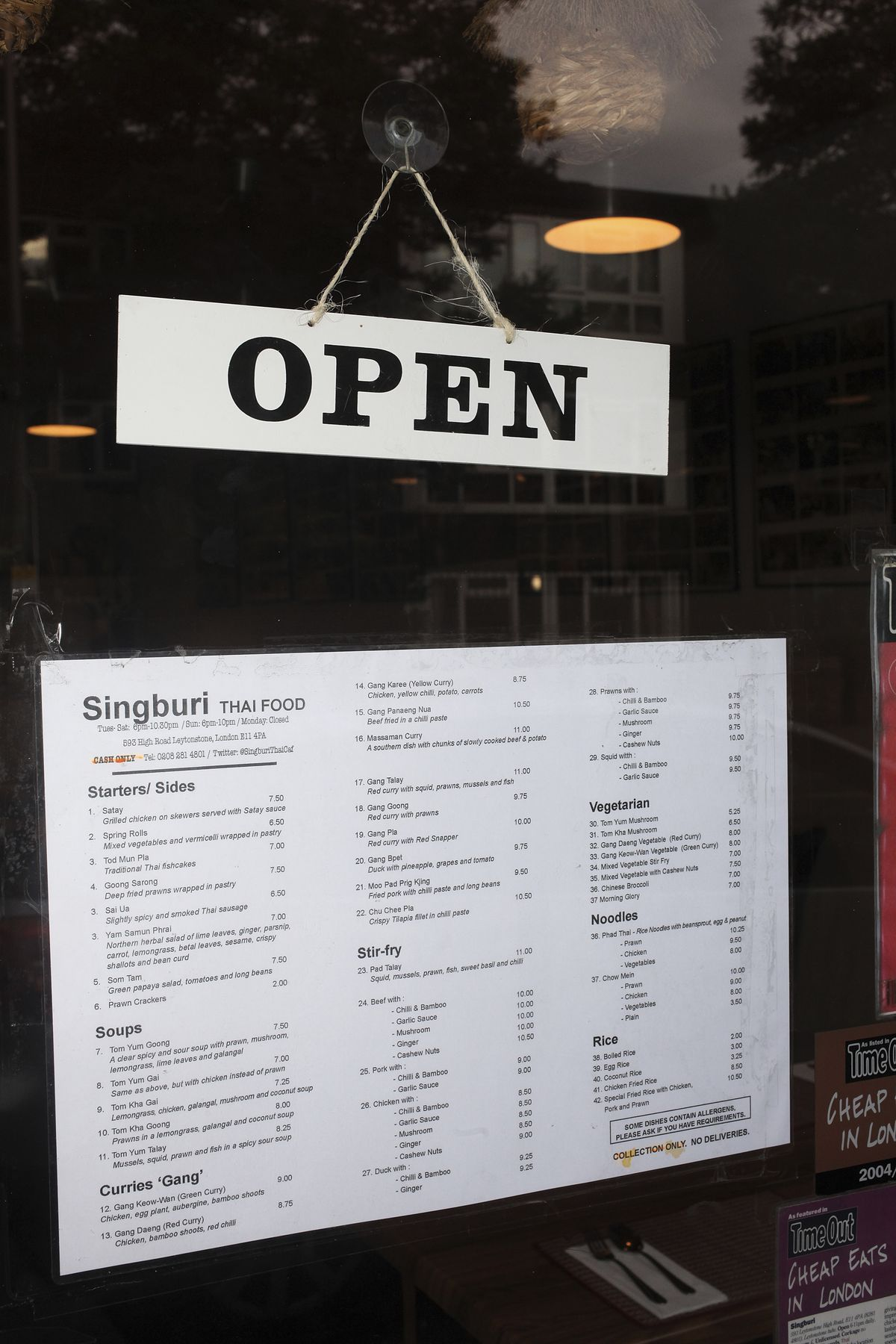 Singburi, one of the city's best Thai restaurants, reopens in London this week