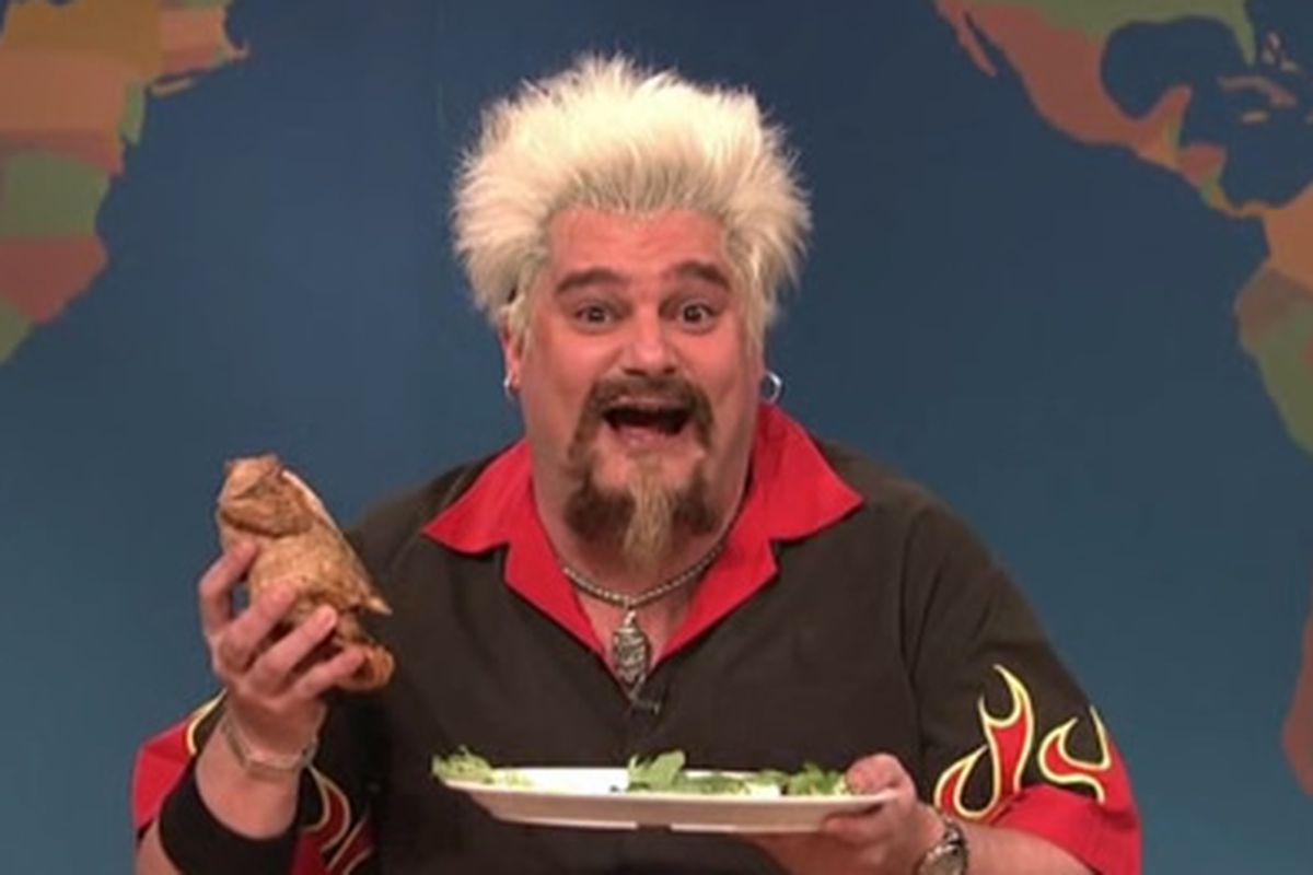 Guy Fieri's Thanksgiving Cooking Tips on Saturday Night Live - Eater