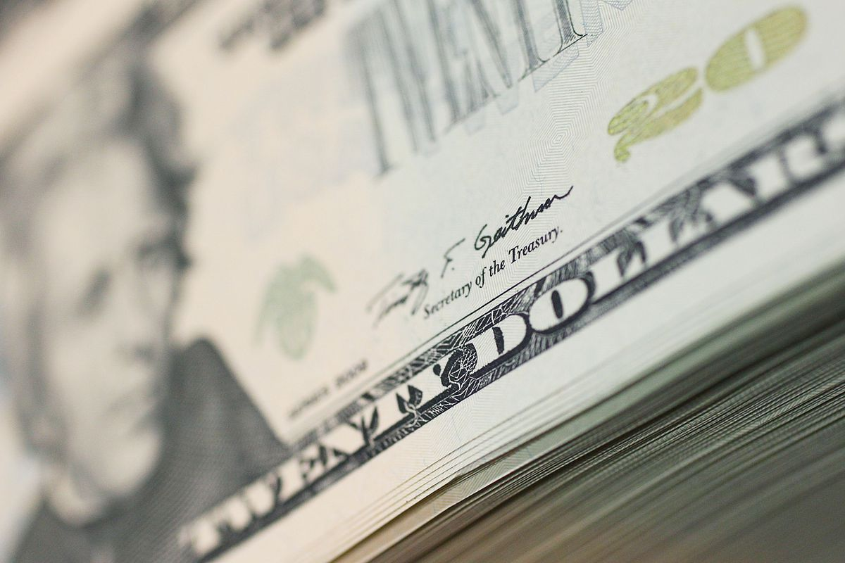 Twenty Dollar Bills Are Printed At The Bureau of Engraving and Printing