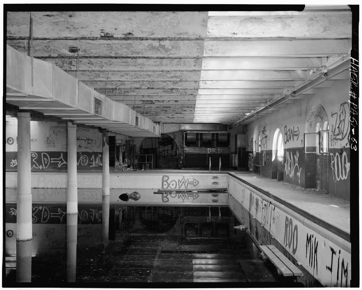 Remembering Philly S Lost Indoor Swimming Pools Curbed Philly