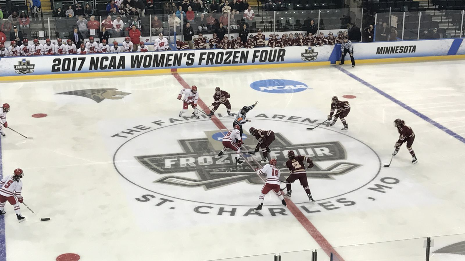 2019 2022 Women S Frozen Four Sites Announced All Four In