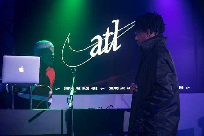 DJ Marc B (left), 21 Savage (right)
