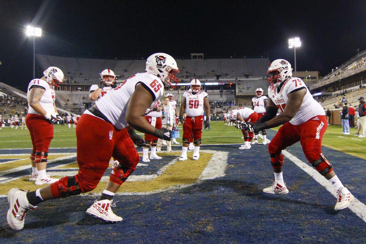 NCAA Football: North Carolina State at Georgia Tech