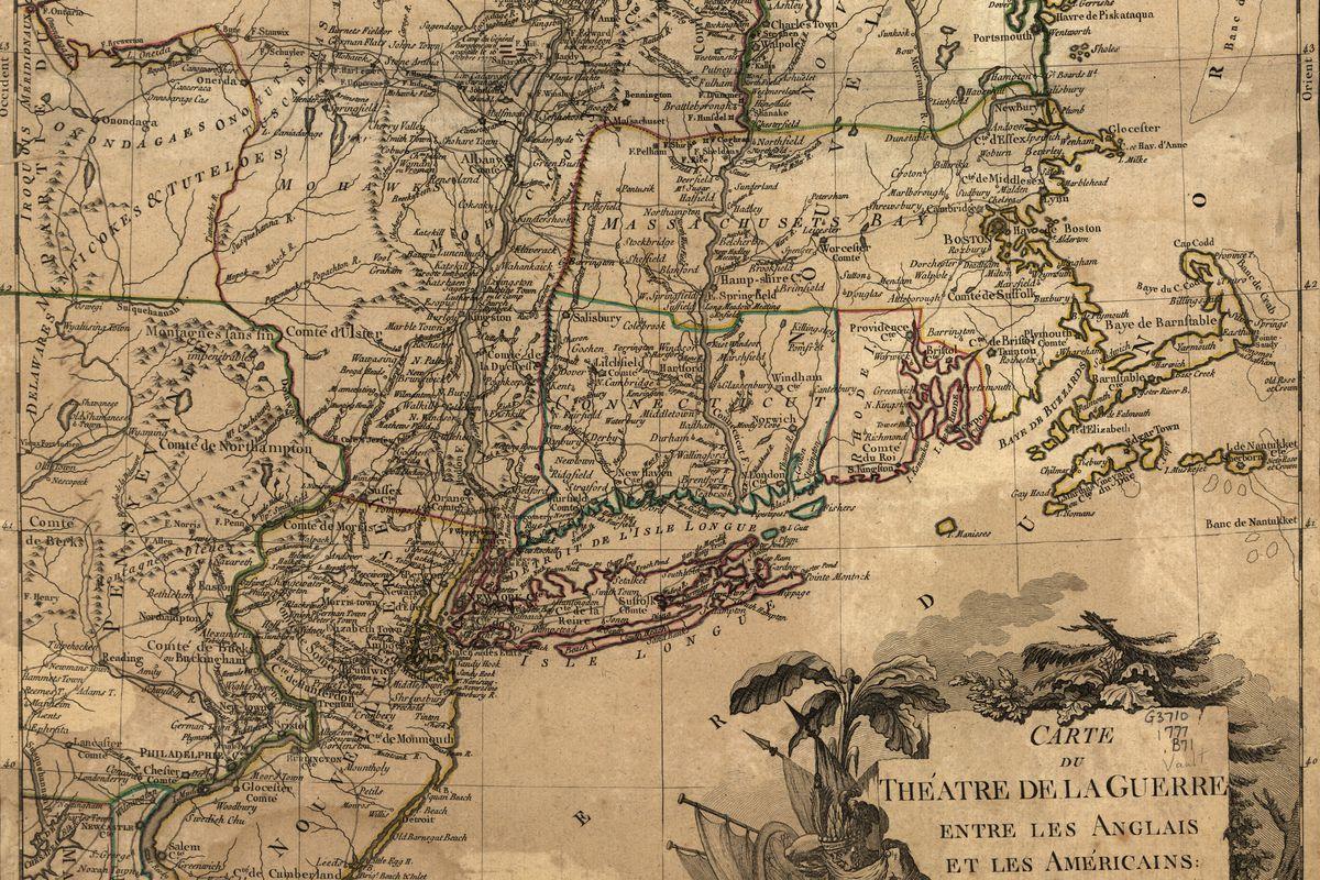 Theatre Of War In The Thirteen Colonies