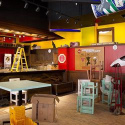 The future bar area of Señor Frog's.