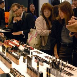The Chanel cosmetics table