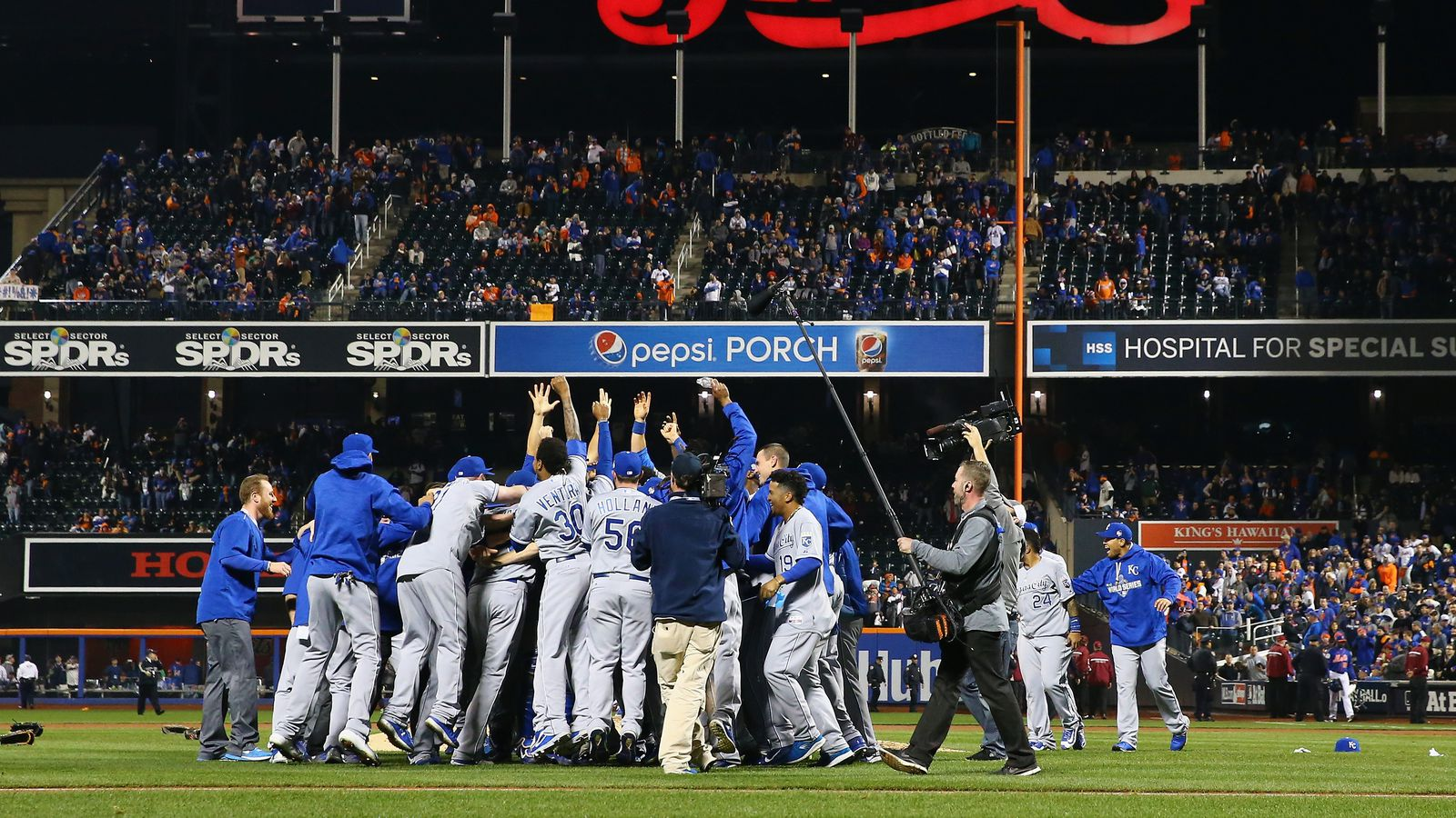 The ten breaks to a Royals World Series title