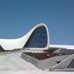 Heydar Aliyev Cultural Center by Zaha Hadid