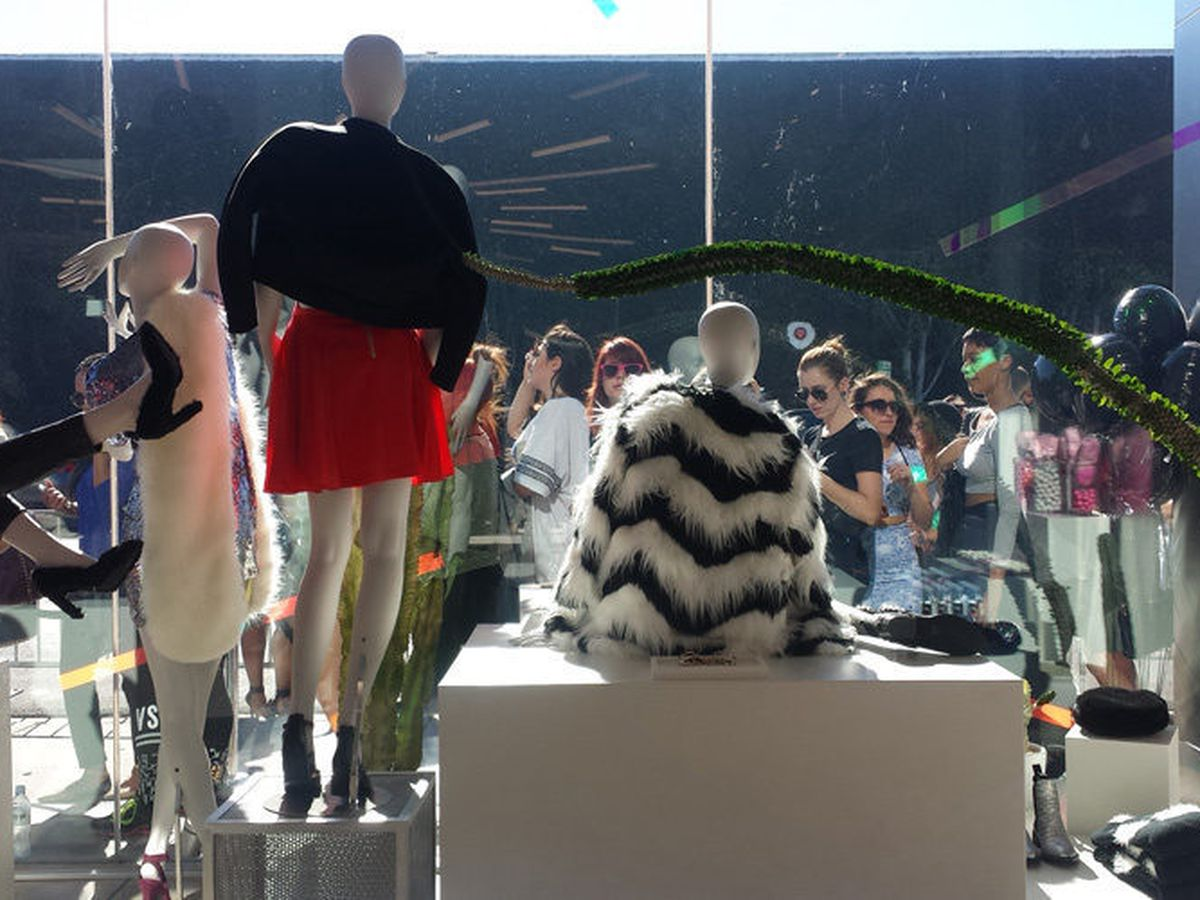 Nasty Gal's Melrose Avenue outpost.