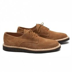 """<strong>Common Projects</strong> Derby Creeper in Tan <a href=""""http://unisnewyork.com/products/common-projects-derby-creeper-tan"""">$310.80</a> (reg. $518) at UNIS"""