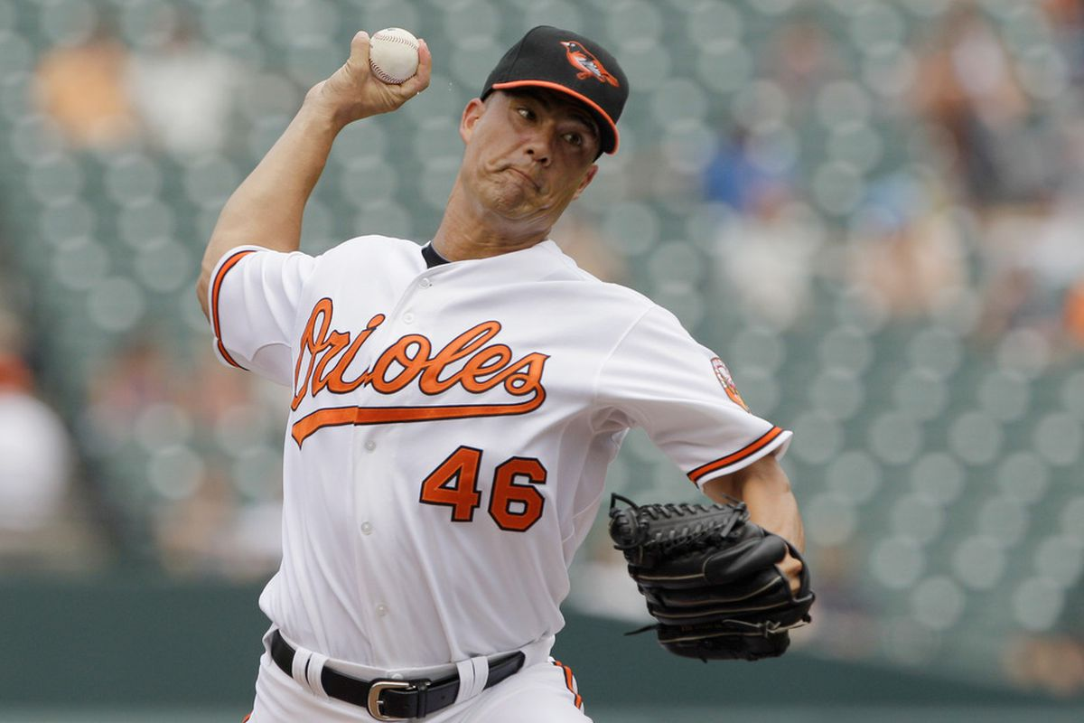 Guts QS, O's lose.  You've seen this movie before. (Photo by Rob Carr/Getty Images)