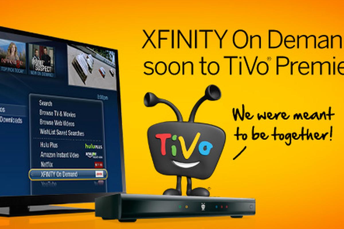 TiVO Xfinity On Demand
