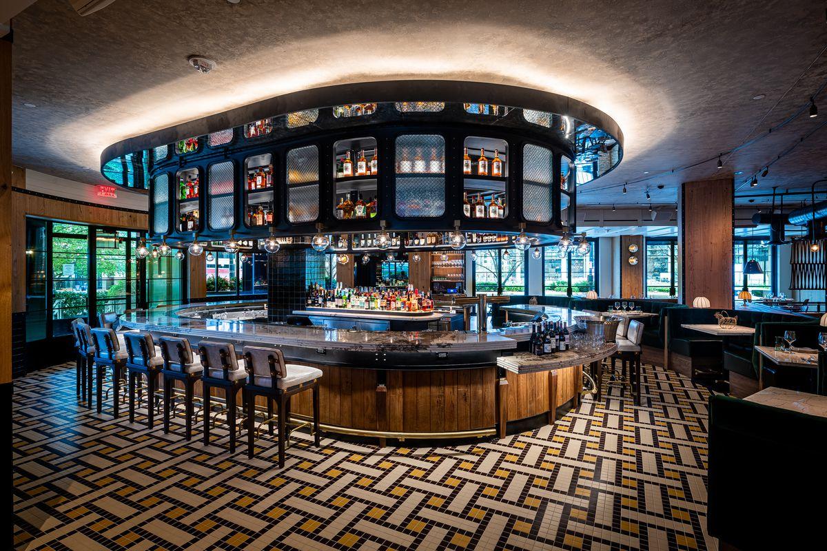 The bar at Yardbird in D.C.