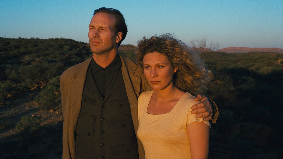 William Hurt and Solveig Dommarti in Until The End of the World