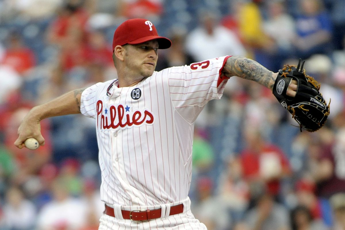 Phillies starters are having a tough time keeping games close early.