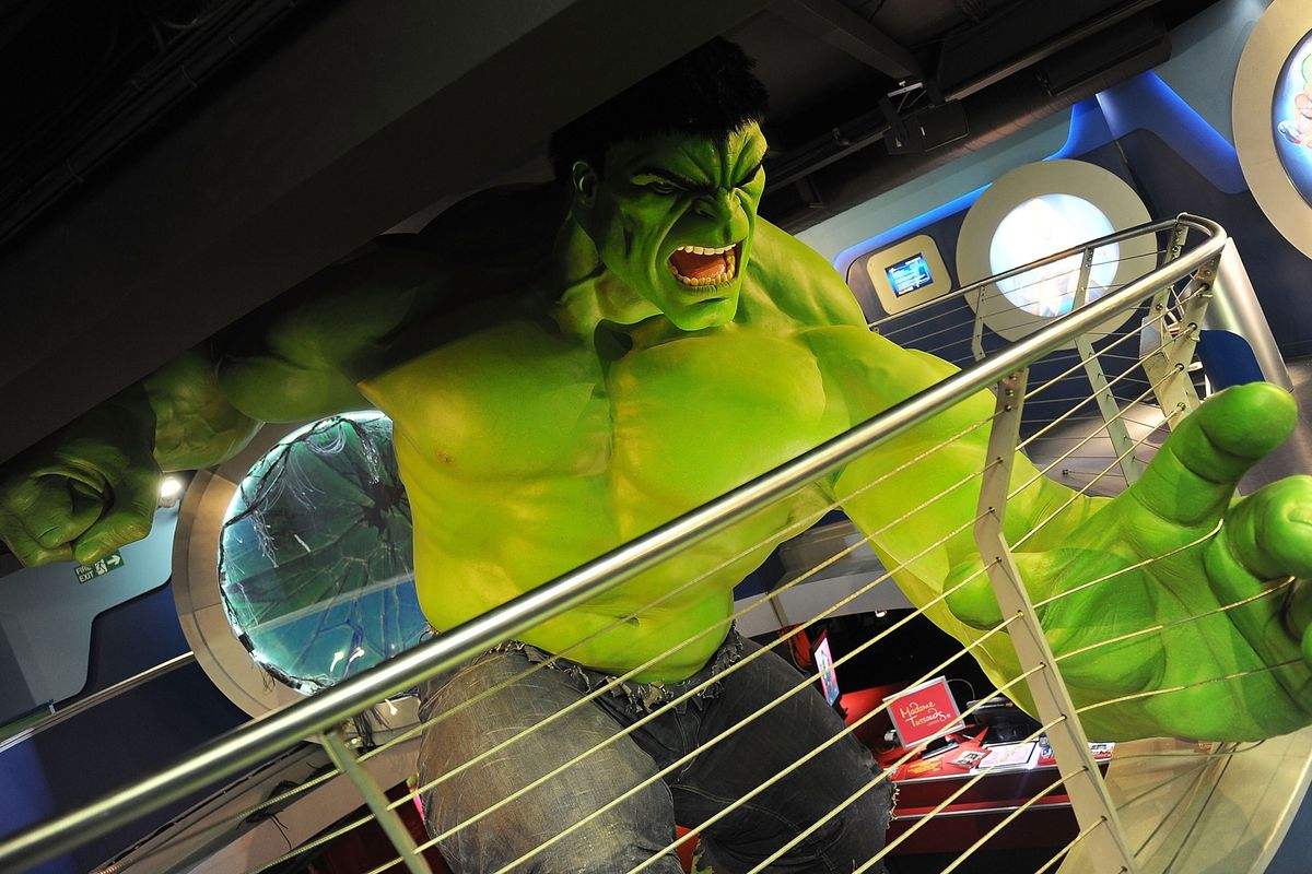 This is what happens when Bruce Banner skips breakfast.