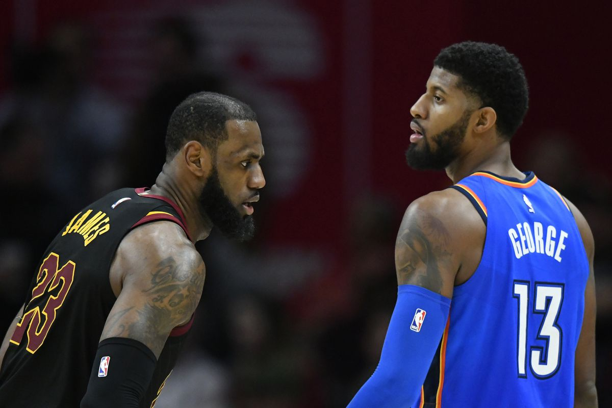 Image result for paul george lakers usa today sports