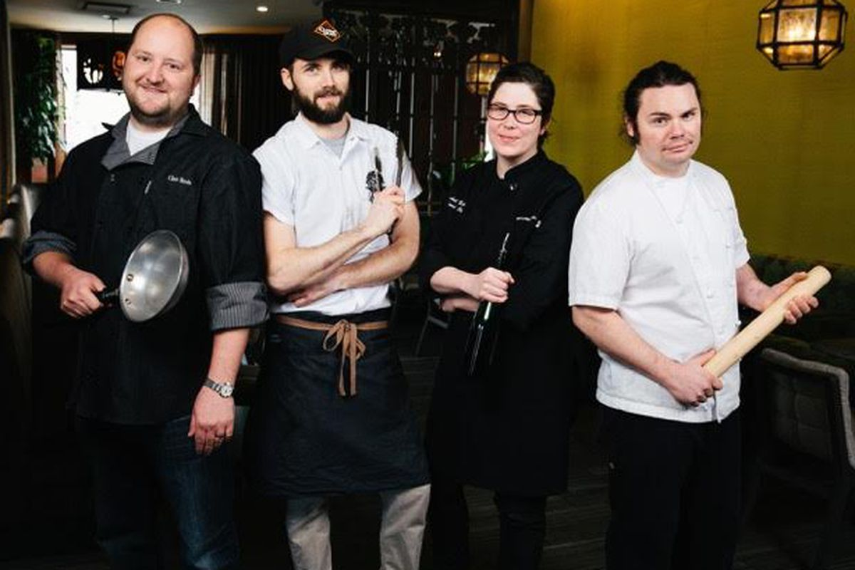 Did Rawitzer bring a bat to a culinary competition?