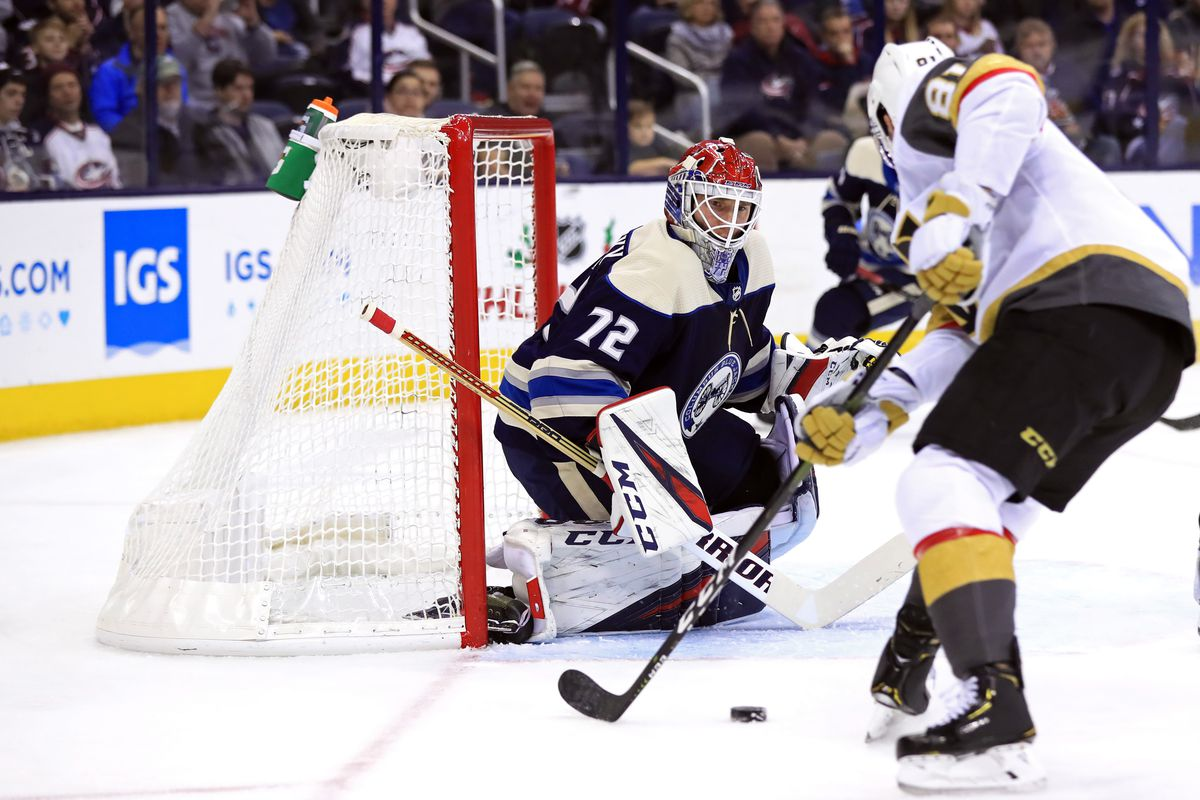 Game 33 Recap Slayed Bob Shuts Out Golden Knights The Cannon