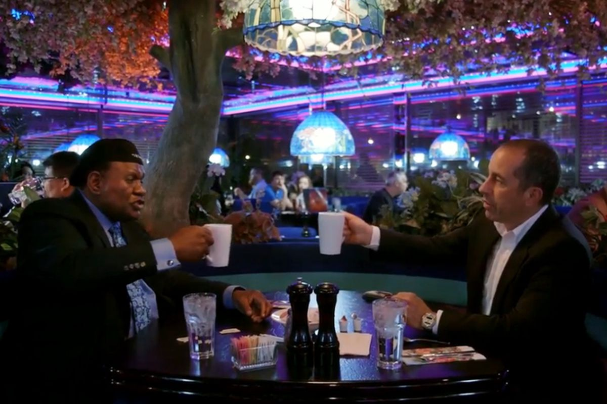 George Wallace and Jerry Seinfeld at The Peppermill