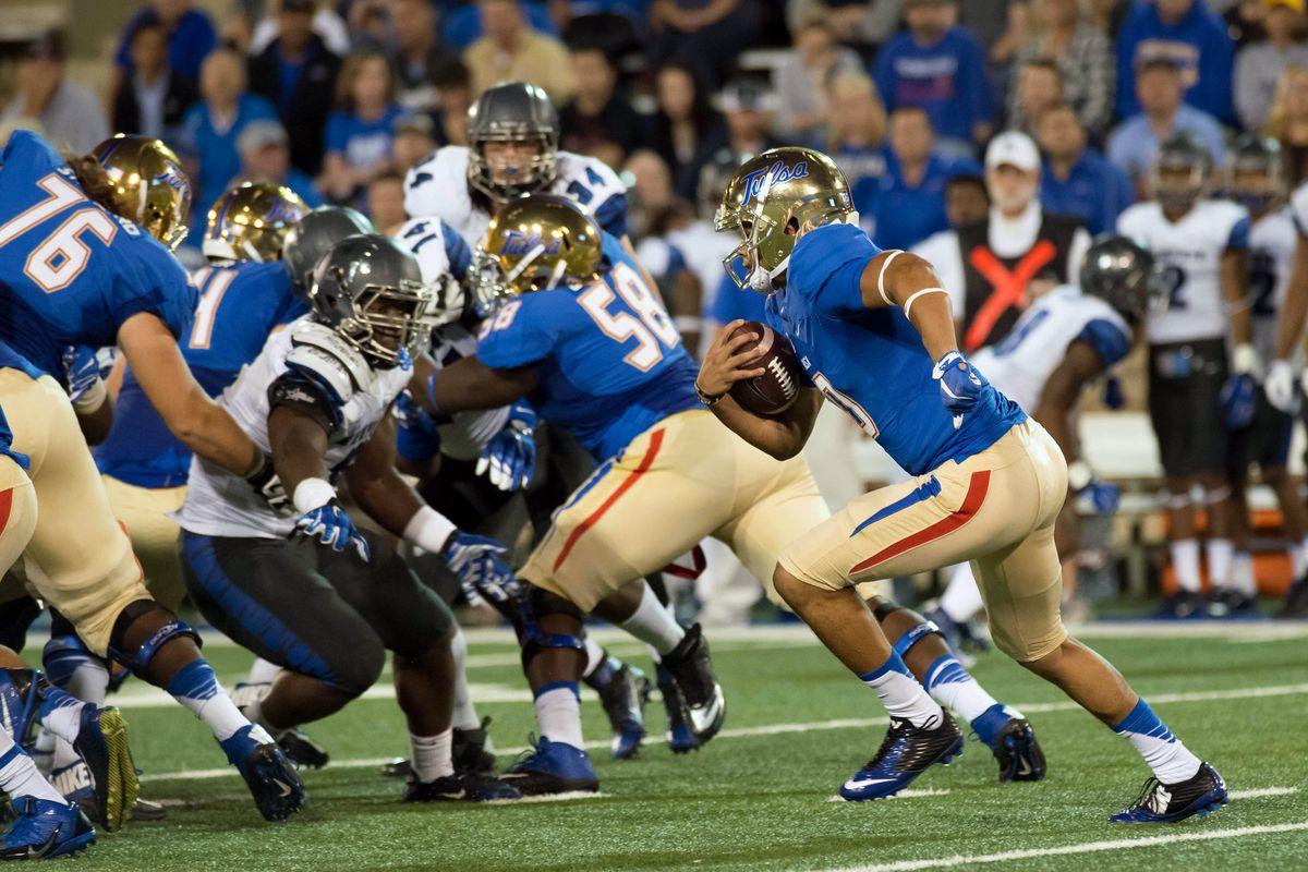NCAA Football: Memphis at Tulsa