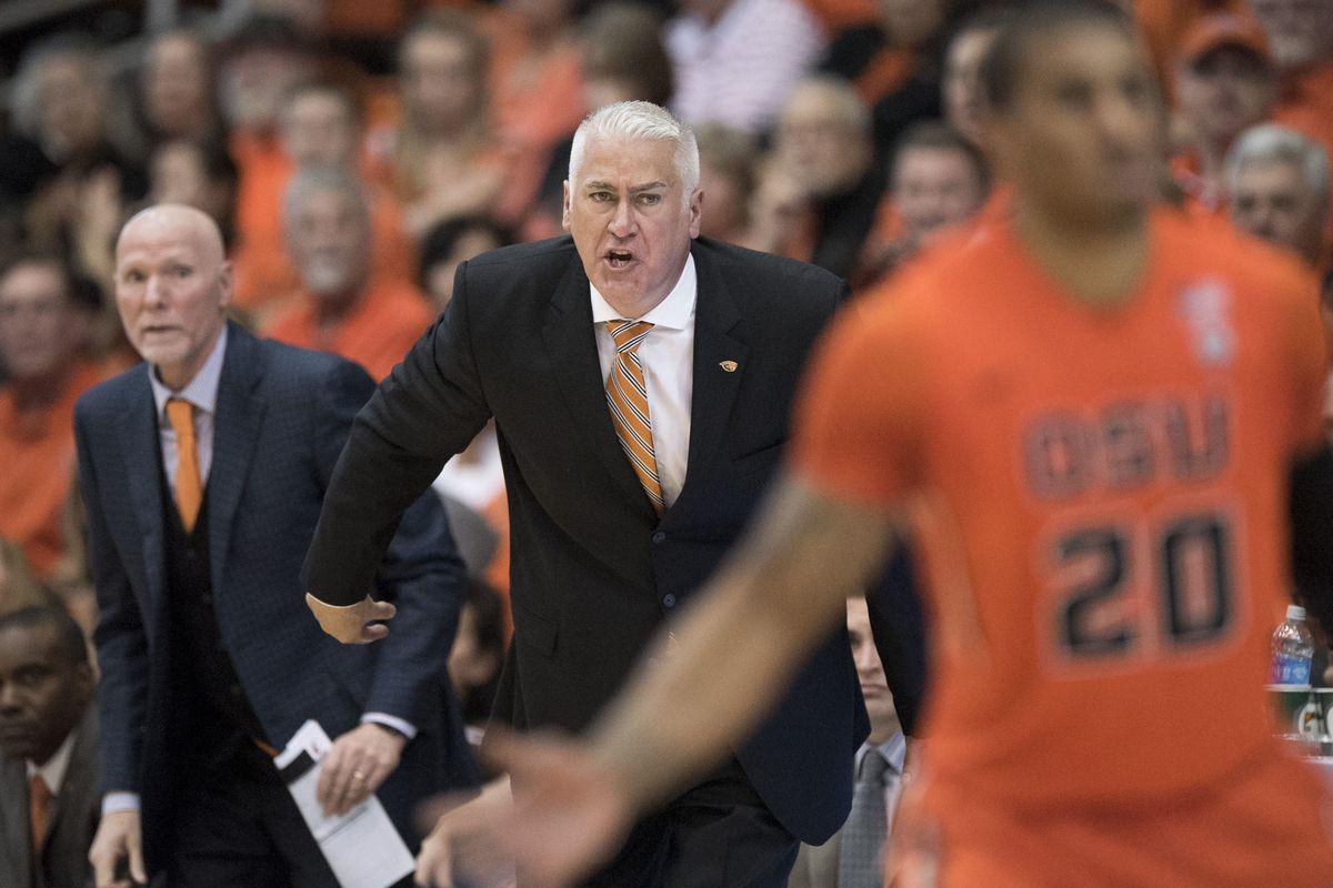 NCAA Basketball: Washington State at Oregon State