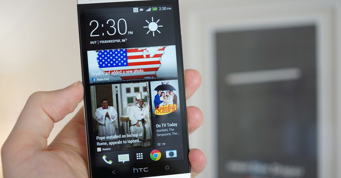 HTC One for AT&T: the best Android phone yet? - The Verge