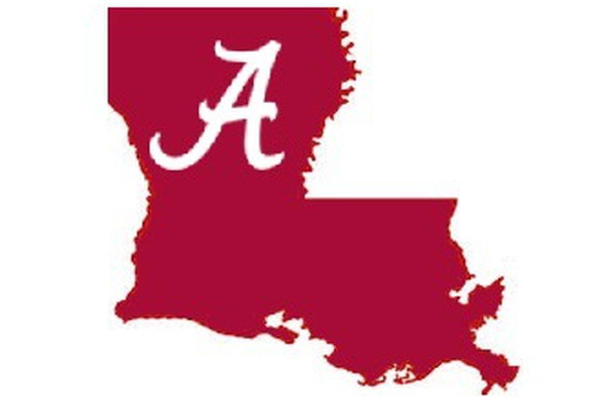 Louisiana WR commits to Bama.