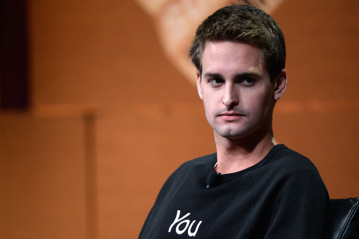 Snapchat CEO Evan Spiegel speaks onstage during 'Disrupting Information and Communication' at the Vanity Fair New Establishment Summit at Yerba Buena Center for the Arts on October 8, 2014 in San Francisco, California.