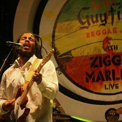 Ziggy Marley at Guy Fieri's Raggae Jam