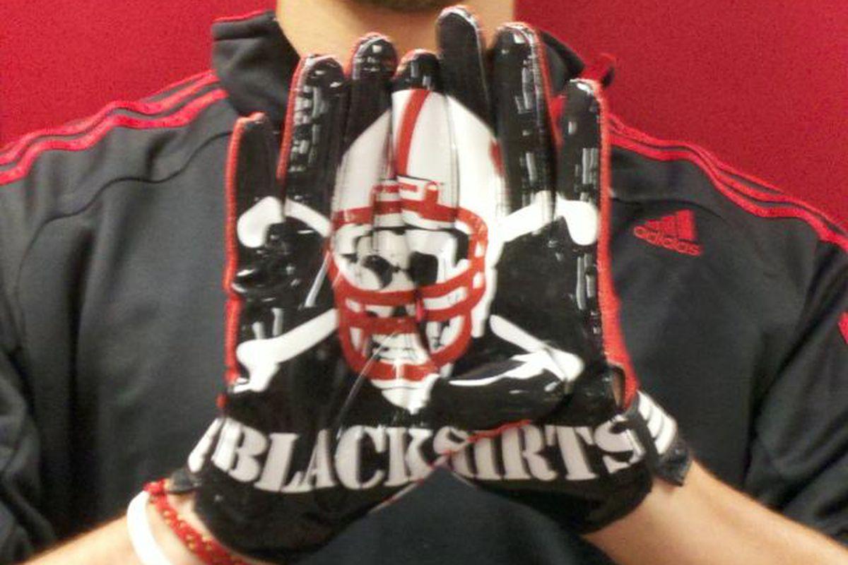 2011 Adidas Gloves - Blackshirts