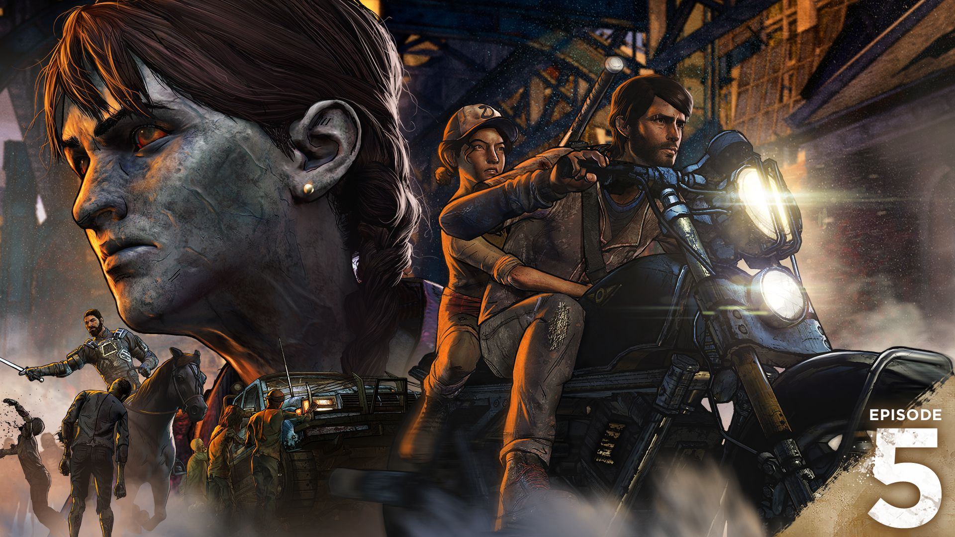 The Walking Dead Season 3 A New Frontier Review Polygon