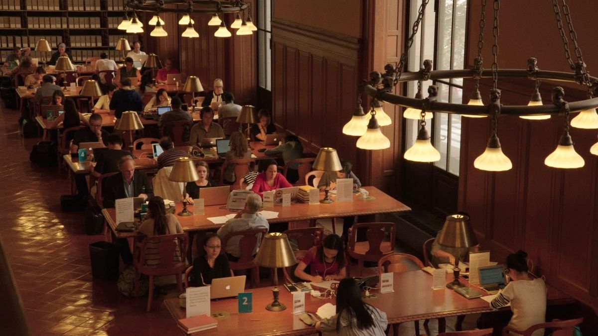 Frederick Wiseman's Ex Libris goes inside the New York Public Library.