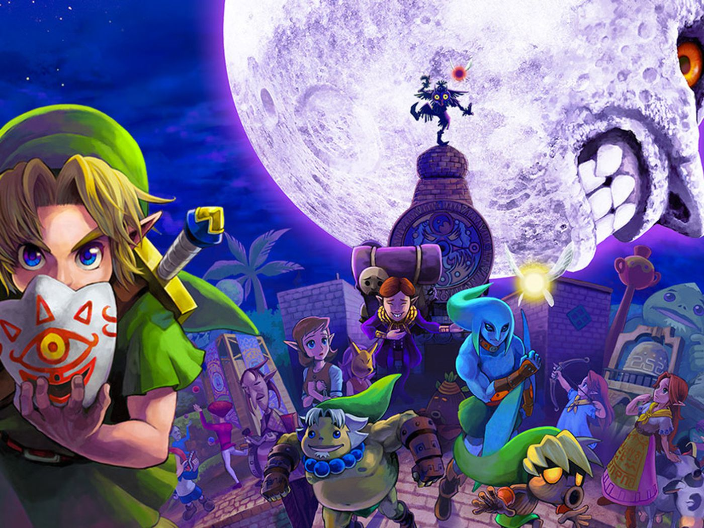 Majora S Mask Is Better Than Ocarina Of Time Polygon