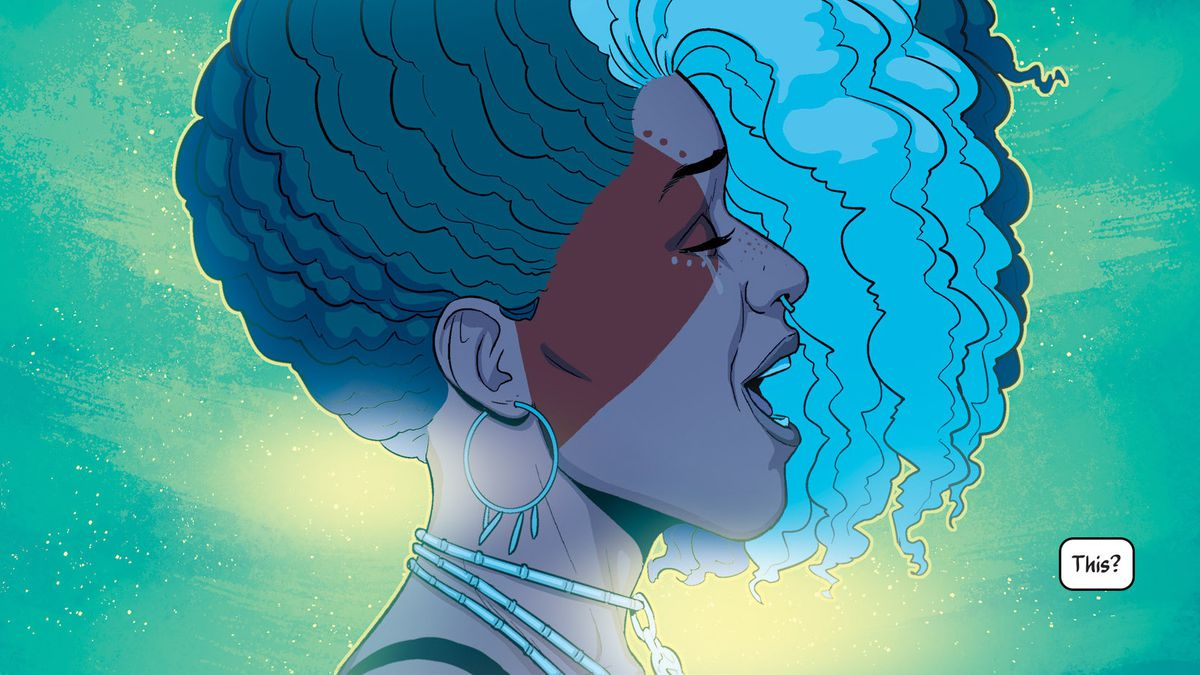 The blockbuster comic series The Wicked + The Divine has