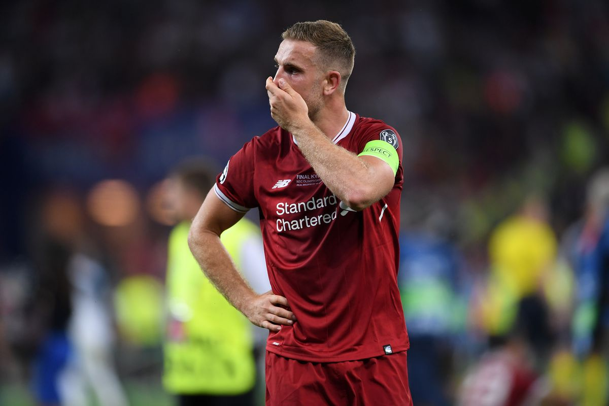 """huge selection of d3e75 0537c Jordan Henderson on Real Madrid Loss: """"They Deserved to Win ..."""