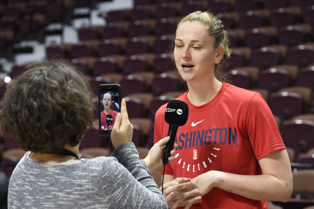 WNBA Finals-Practice and Media Availability