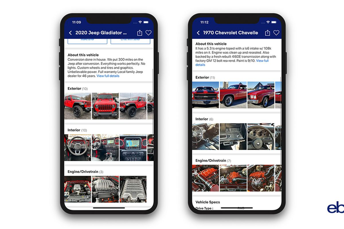 eBay Motors' AI powered tools will let you list a car in