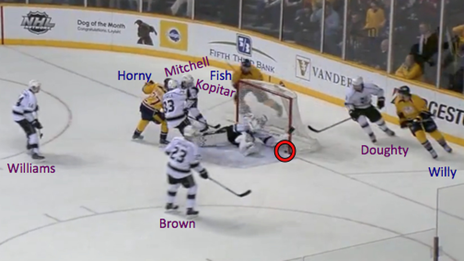 Frame by frame analysis on the forecheck frame by frame analysis 2 late goals from la game jeuxipadfo Image collections