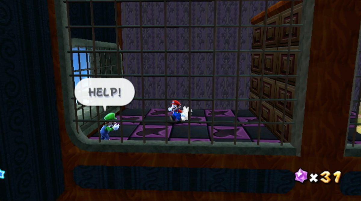 Luigi and the Haunted Mansion