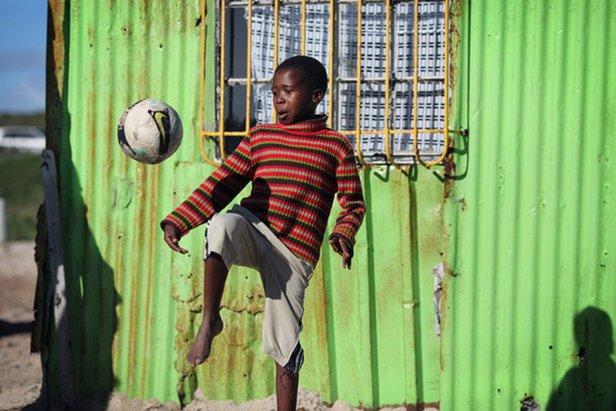 There are many talented youngsters in Africa, and you can make a diffence to their development.