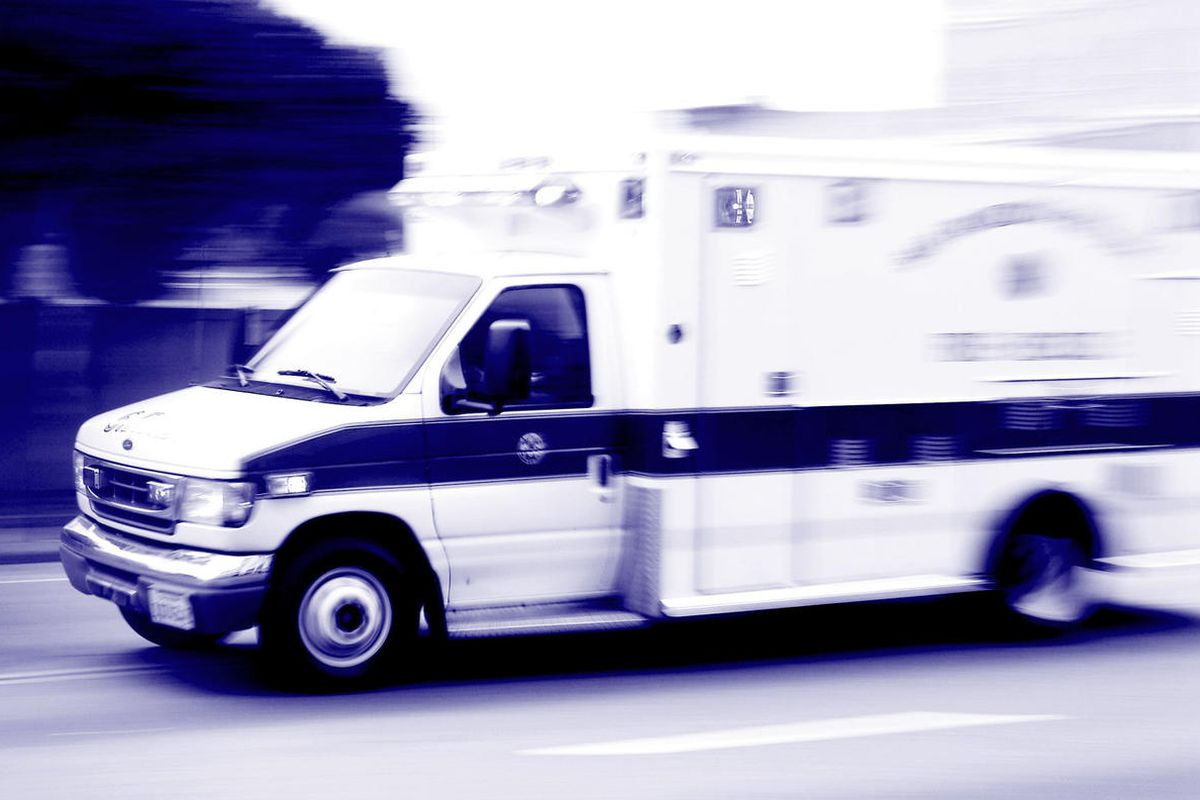 """FILE """""""" The driver of a truck hit by a semitrailer in Tooele on Wednesday has died."""