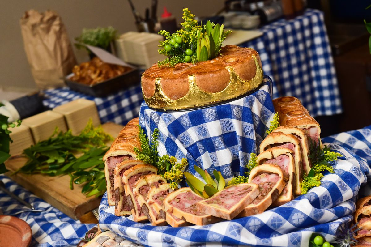 The award winning pate en croute. Photo by Flatow Photography/Cochon 555