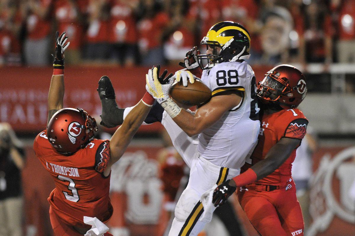 Michigan faces a tough test when BYU visits Ann Arbor