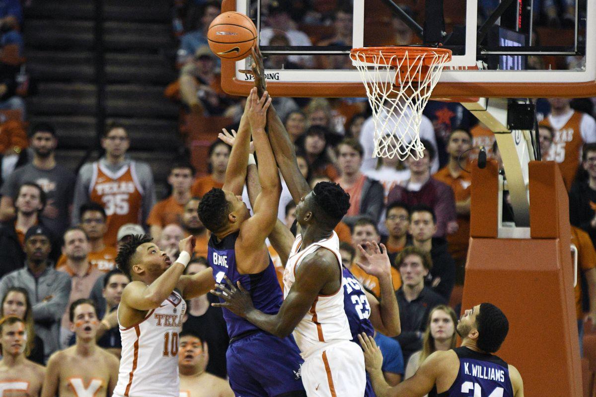 NCAA Basketball: Texas Christian at Texas