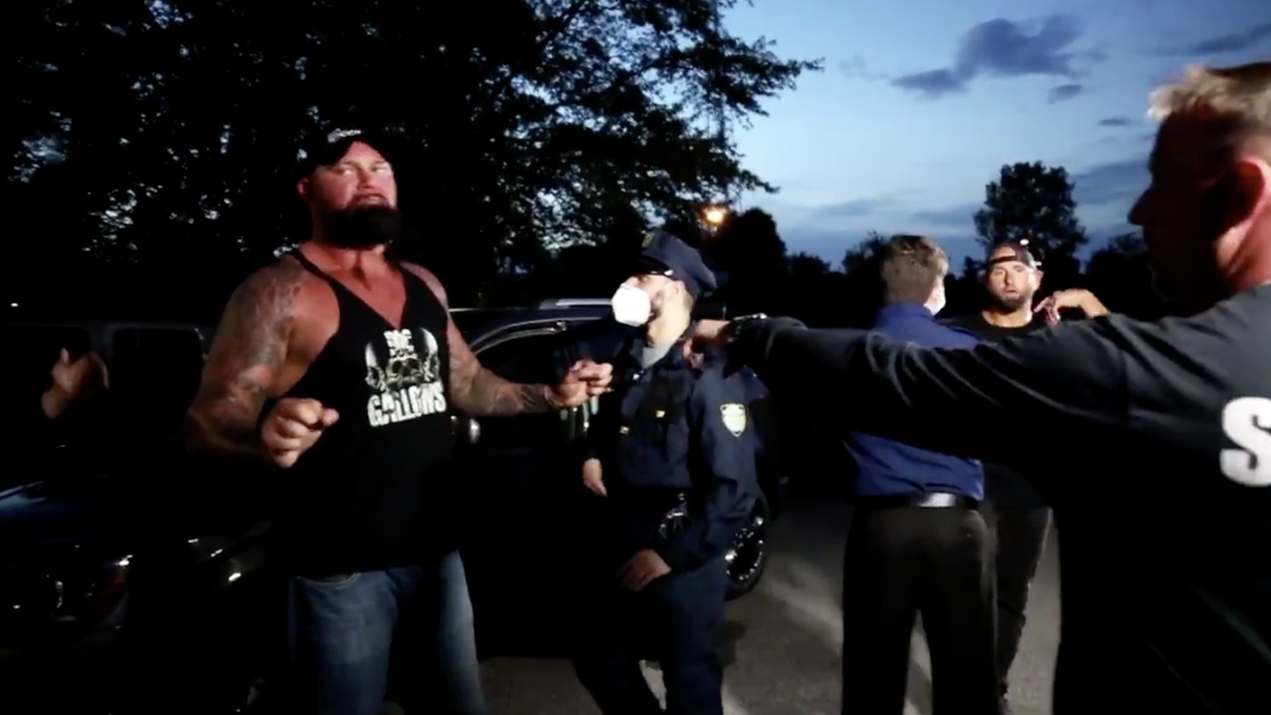 Doc Gallows gets arrested